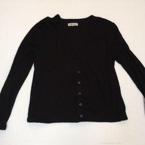Madewell XS black cardigan